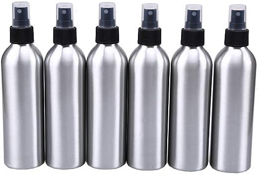 6pcs aluminio botella de Spray, wcic recargable atomizador de ...