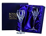Royal Scot Crystal Highland Set of 2 Crystal Port Sherry Glasses