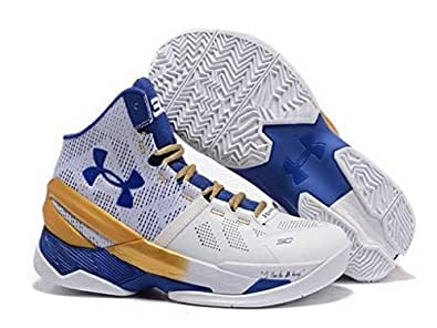 "Curry 2 ""Gold Rings"" 1259007 107 blue/ white/ gold (8)"
