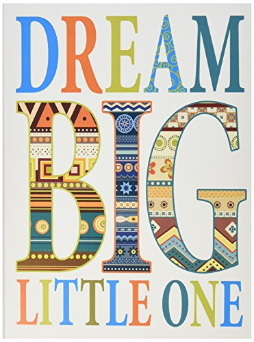 The Kids Room by Stupell Dream Big Little One Boho Graphic Art