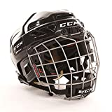 CCM Youth 3DS Ice Hockey Helmet Combo, White