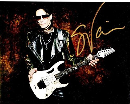 Steve Vai Signed - Autographed Legendary Guitarist 8x10 inch Photo - Guaranteed to pass BAS - Beckett Authentication