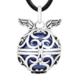 EUDORA Chimes Angel Wing Harmony ball Mexican bola Pregnant Necklace