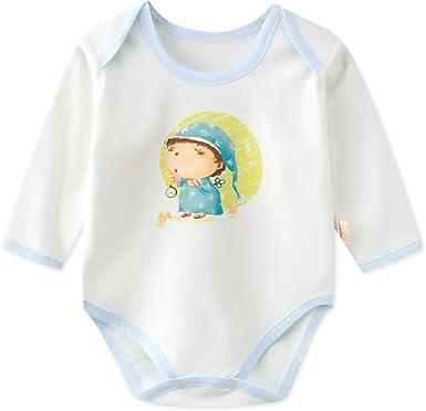Newborn Infant Unisex Baby Romper Jumpsuit Outfits Cotton Bodysuit Giraffe Print
