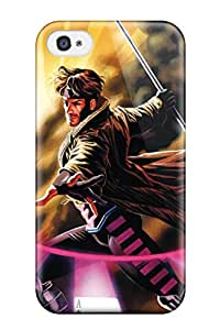 High Quality Gambit X Men Case For Iphone 4/4s / Perfect Case