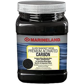 Marineland Black Diamond Media Premium Activated Carbon, 10-Ounce
