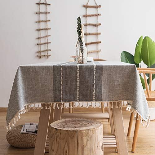 MoMA Stitched Fringe Table Cloth product image