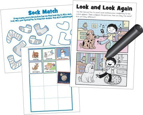 Lee Publications Magic Pen Painting - Highlights 'Puzzle Fun' ()