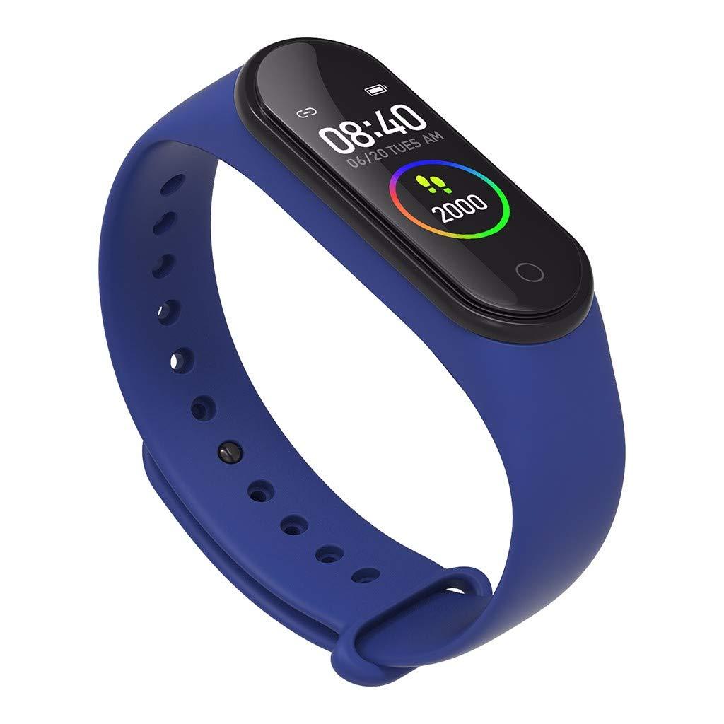 LUXISDE Fitness Bracelet smartwatch Ladies, Activity Tracker M4S Waterproof Sports Watch Smart Bracelet Heart Rate Activity Blood Pressure by LUXISDE (Image #3)