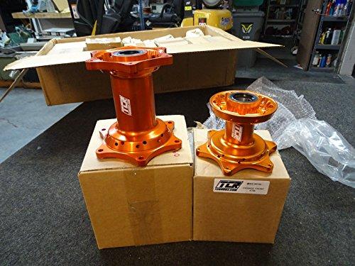 TCR Front & Rear Set Wheel Hubs KTM Orange 125 250 300 350 450 525 SX SXF 07-16 by TCR