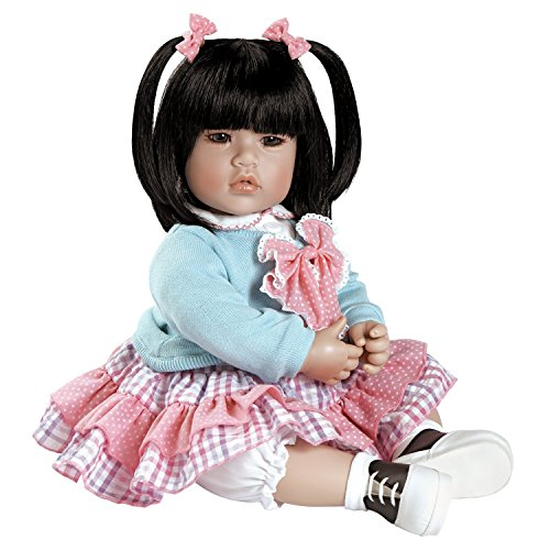 """Adora Toddler Smart Cookie 20"""" Girl Weighted Doll Gift Set for Children 6+ Huggable Vinyl Cuddly Snuggle Soft BodyToy Photo #1"""