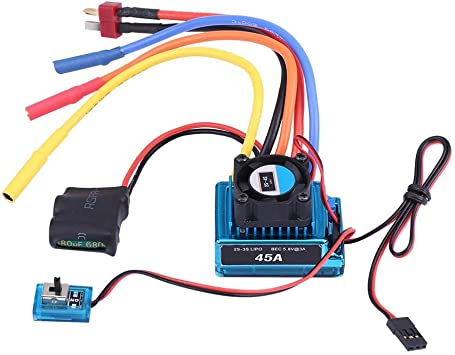 Waterproof And Dustproof Brushless ESC 120A RC Model Parts /& Accessories USA