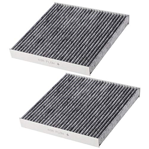 Puroma 2 Pack Cabin Air Filter with Activated Carbon, Replacement for CP285, CF10285, Toyota, Lexus, Scion, Subaru