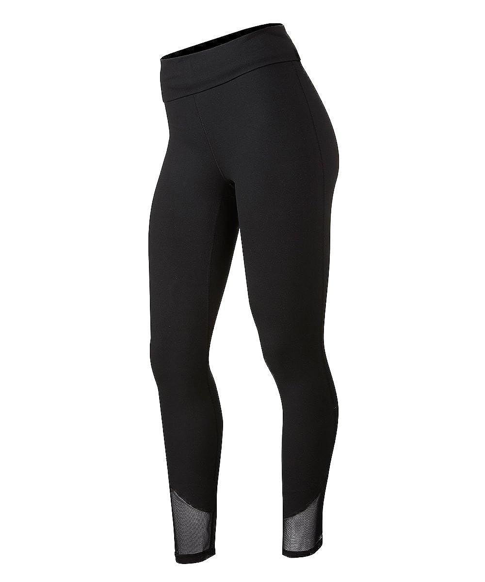 accc282cc5197 Soffe Women's Juniors Curvy Lux Mesh Leggings: Amazon.co.uk: Clothing