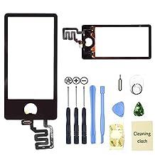 Eachbid Black Advanced for iPod Nano 7 7th Touch Screen Digitizer Replacement