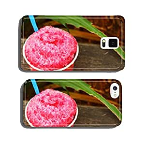 Red water Shaved ice cell phone cover case Samsung S5