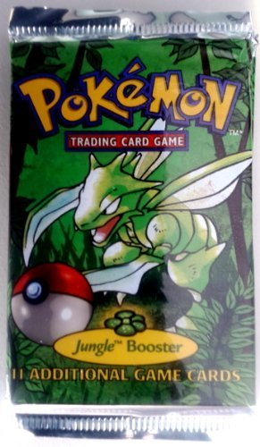 Pokemon Jungle Booster Pack (Discontinued by manufacturer) by Wizards of the Coast & Nintendo