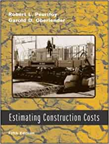 estimating construction costs pdf robert peurifoy