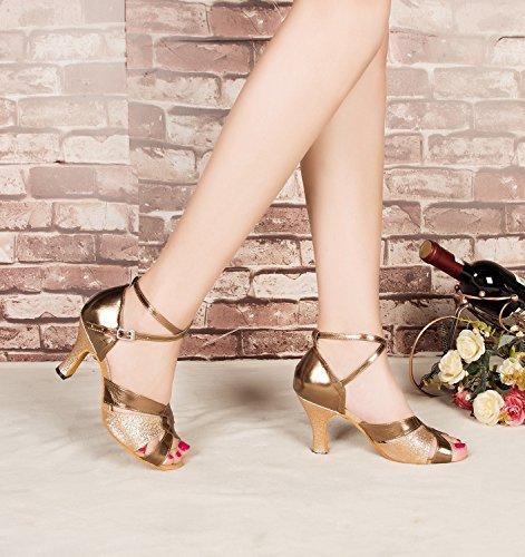 8cm Miyoopark Oro Donna Ballroom gold 35 Heel EqqI6wBr