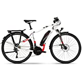 Shark Trekking Biking Sduro Trekking 6.0 for Electric Bike/eBike 2018., Weiß/Rot/Anthrazit Herren, M
