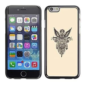 "For Apple (5.5 inches!!!) iPhone 6+ Plus / 6S+ Plus , Nativo americano de la libertad del motorista Gasolina"" - Diseño Patrón Teléfono Caso Cubierta Case Bumper Duro Protección Case Cover Funda"