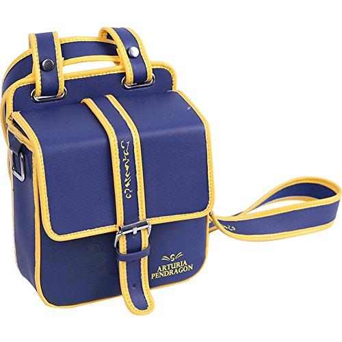 YOURNELO Unisex Fate Grand Order Saber Quadratic Element Rucksack Sport Waist Bag Bookbag Haversack (Sapphire) -