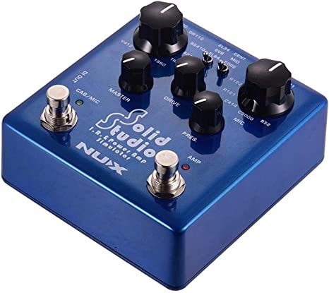 Effector de guitarra Simulador de amplificador y potencia de ...