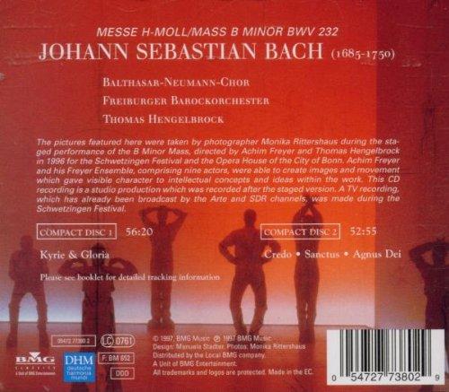 Hengelbrock, Thomas - Bach J.S: Mass in B minor - Amazon.com Music