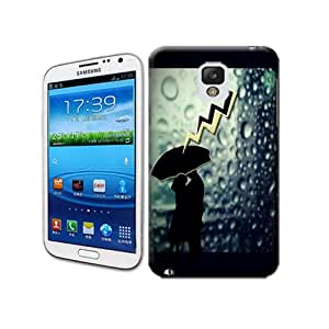 Natalie Works Unique Design A Couple of Lovers in Lightning Day TPU Hard Cases for Samsung Note 3 Hot Sell Protective Case