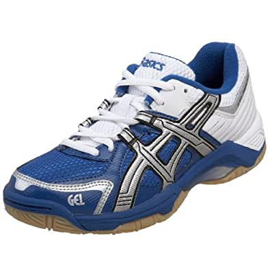 ASICS Women's GEL-Rocket Court Shoe,Royal/Silver/White,11.5 B US