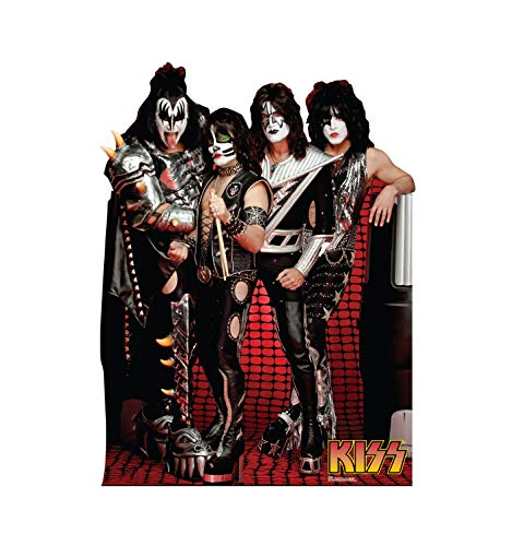 Advanced Graphics KISS Group Life Size Cardboard Cutout Standup