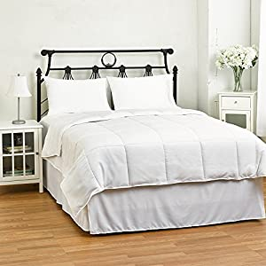 white down alternative comforter duvet cover insert light weight and. Black Bedroom Furniture Sets. Home Design Ideas