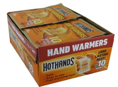Price comparison product image HotHands Hand Warmers plus 1 FREE SAMPLE Body & Hand Super Warmer