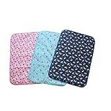 niceeshop(TM) Baby Infant Reusable Cotton Cloth Waterproof Urinal Pad Cover/Mat/Mattress Pad-Small Size