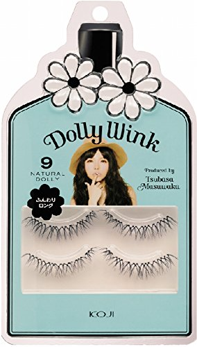 Dolly Wink Koji False Eyelashes #9 Natural Dolly (Wink Lashes)