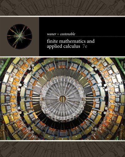 1337274208 - Finite Mathematics and Applied Calculus
