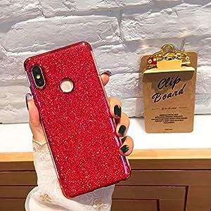 Amazon.com: Carcasa brillante para Xiaomi Mi9 Case Mi 8 Lite ...