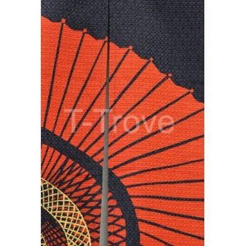 Japanese Parasol Noren Doorway Curtain Tea Ceremony 33x59in #pcos-41