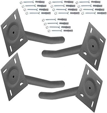 JUEYAN 4X Reifenhalter Wandhalterung Edelstahl Reifenwandhalter Felgenhalter Reifen Felgen Halter Traglast bis 50 KG Wandmontage