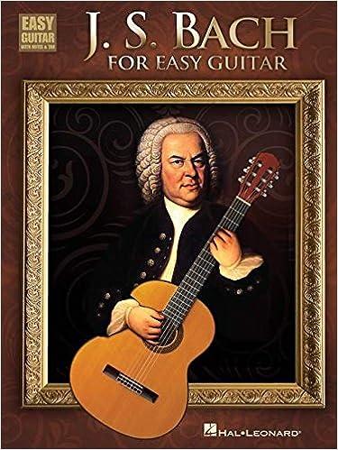 Amazon com: J S  Bach for Easy Guitar (0884088621513