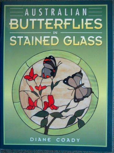 Australian Butterflies in Stained Glass