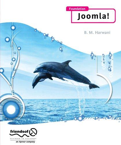 Foundation Joomla! by B.M. Harwani, Apress