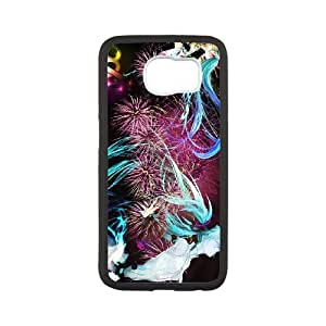 Samsung Galaxy S6 phone case Black Hatsune Miku RRTY7498113