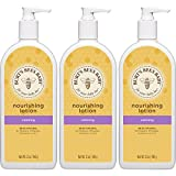 Burt's Bees Baby Nourishing Lotion, Calming, 12 Ounces (Pack of 3)