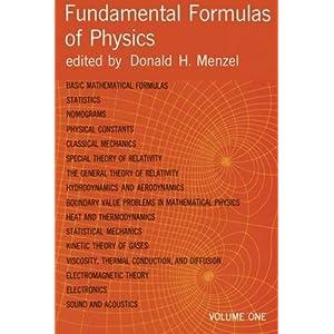 Amazon com: The Cambridge Handbook of Physics Formulas