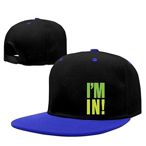Custom Unisex-Adult I'M IN! Casual Hit Hip Hop Baseball Cap Hats Caps RoyalBlue - Animals In Star Wars Costumes