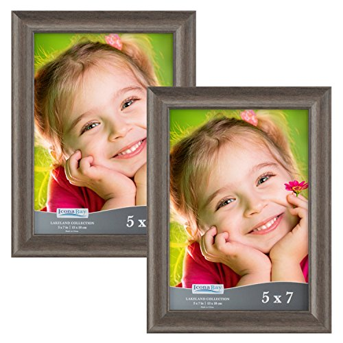 Icona Bay 5x7 Picture Frames:  Wooden Picture Frames, Photo