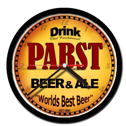 PABST beer and ale cerveza wall clock for sale  Delivered anywhere in USA