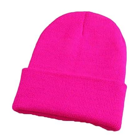 BZAHW Nuevo 9 Colores Gorra de Invierno Sombreros Cálidos Unisex ...