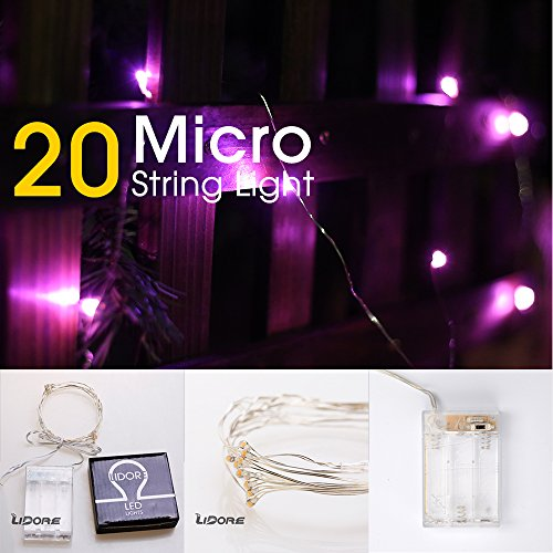 Pink Led Fairy Lights - 3